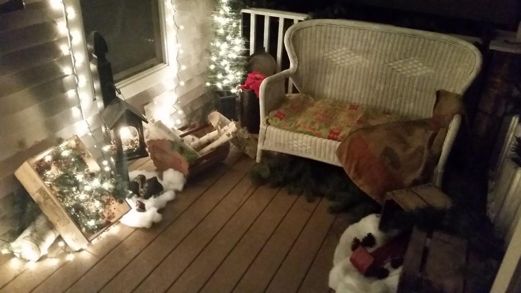 Christmas Porch!