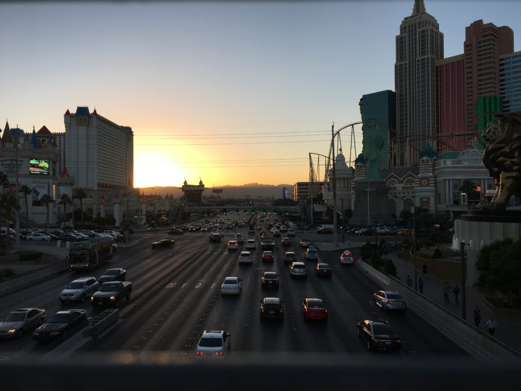 vegas-sunset
